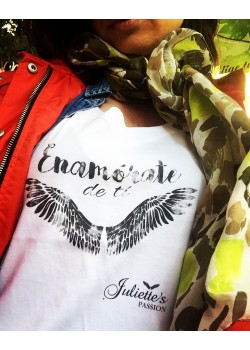 Camiseta Enamórate de tí de Juliettes Passion