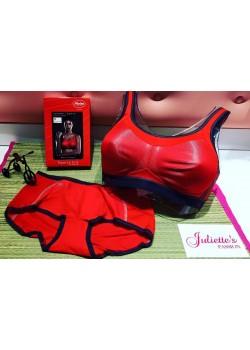 Sujetador deportivo rojo Anita