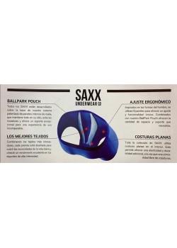 Calzoncillo boxer camuflaje artico pixelado SAXX