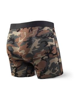 Calzoncillo boxer estampado camuflaje SAXX