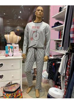 Pijama hombre bici Vintage