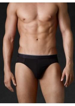 Slip tejido Modal negro Ralph Lauren