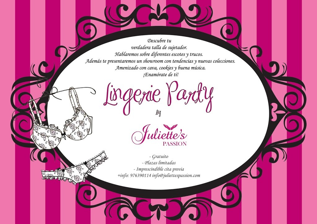 Lingerie Party by Juliette's Passion